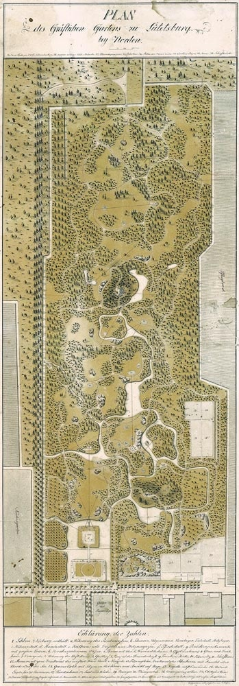 Old park map