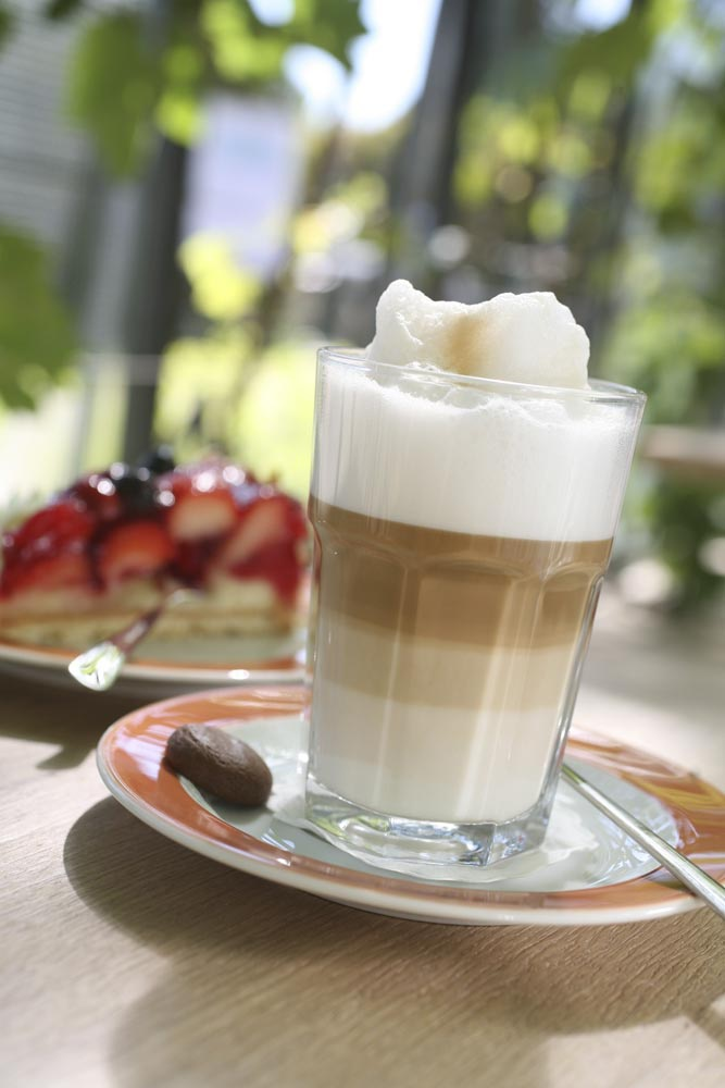 Parkcafé Latte Macchiato