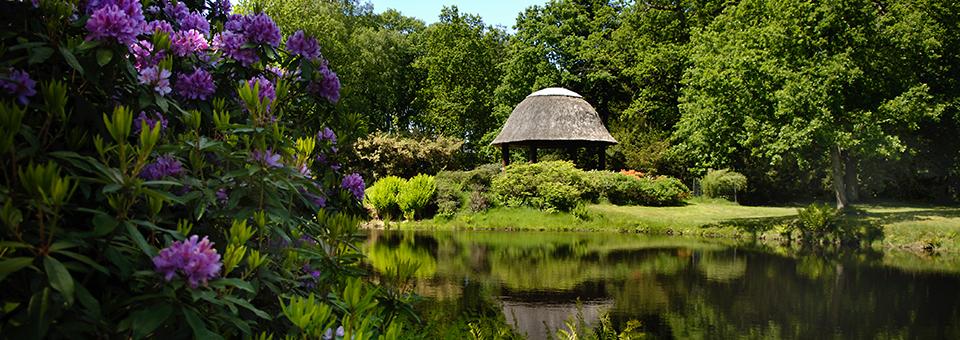 Willkommen im Schlosspark Lütetsburg